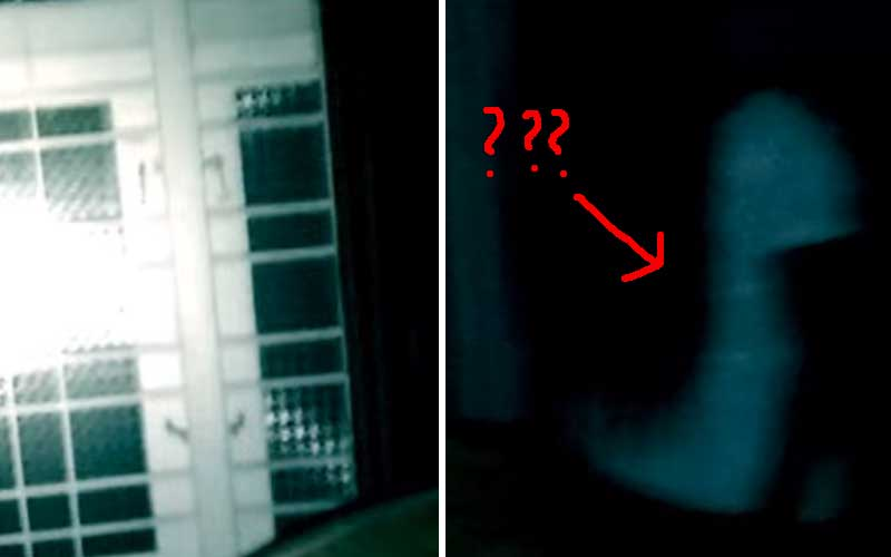 Scary Videos: Guy Nearly Drops His Camera As He Catches Demonic Spirit On Film