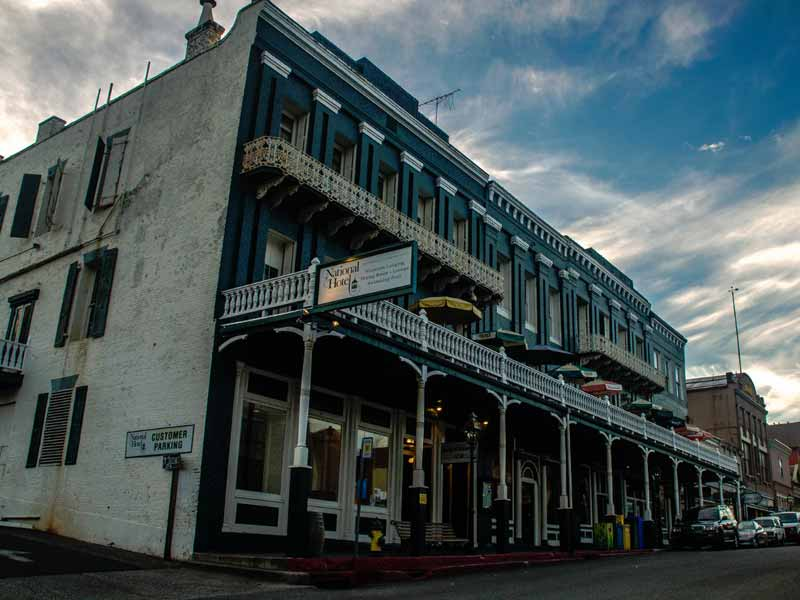 The National Exchange Hotel is a historic place, but you don't last this long without collecting a few ghosts in Nevada City, CA.