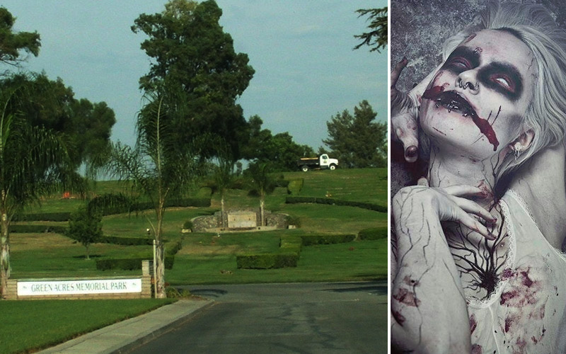 "Bloomington: ""Dead Screamers"" Lurk At The Green Acres Cemetery"