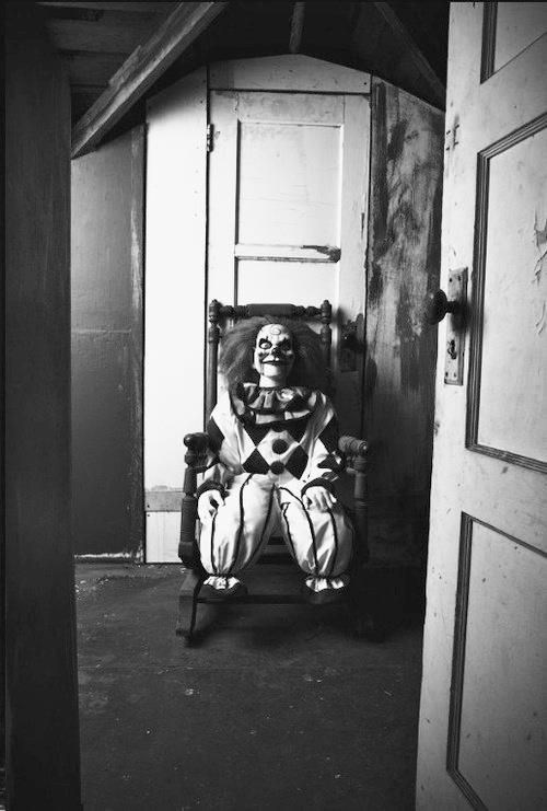 Scary Clown Doll Watches While You Sleep