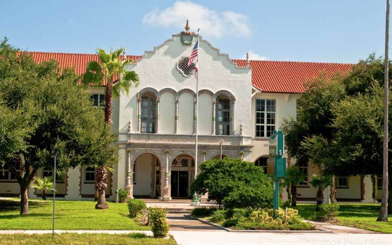 Haunted encounters are a regular occurrence at this haunted high school in St. Petersburg, Florida.