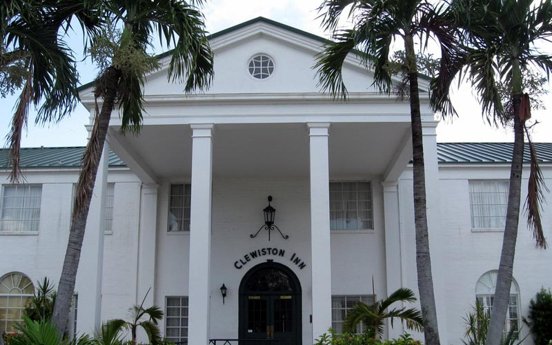 The most haunted hotel in all of Clewiston, Florida.