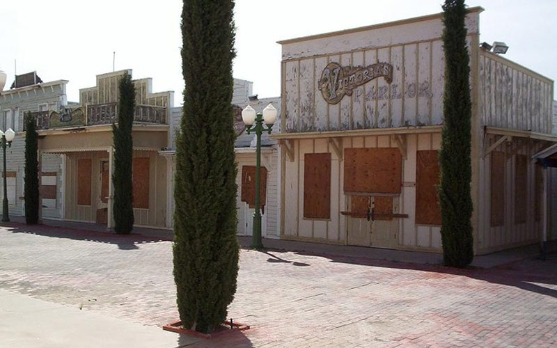 A peek inside the haunting, abandoned Magic Landing theme park in Texas before it was bulldozed to the ground.