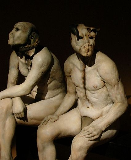 Strange creatures.
