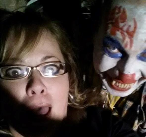 Texas Terror Trail Scary Clown