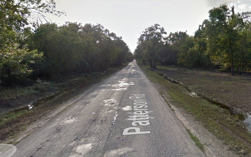 Patterson Road in Houston has a rich history of interesting paranormal occurrences.