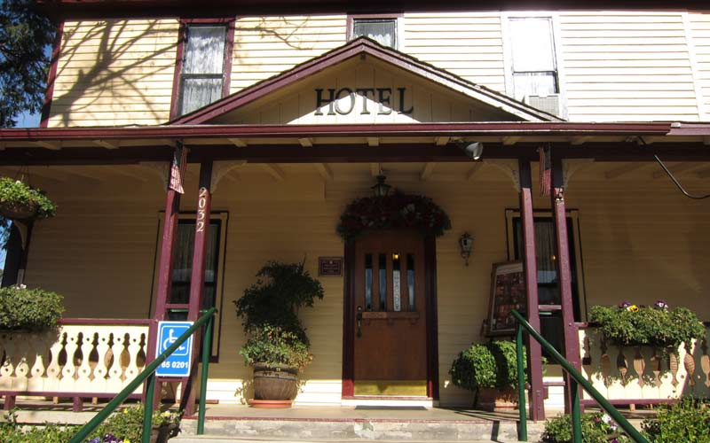 The Julian Gold Rush Hotel attracts a lot of different types of people, some of them are very sensitive to the paranormal and supernatural.