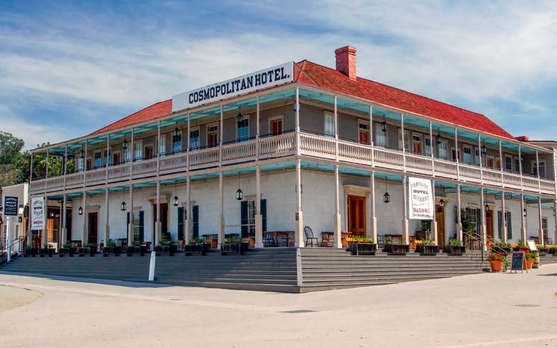 The Cosmopolitan Hotel is nearly 200 years old. That is a lot of time to accumulate paranormal baggage.