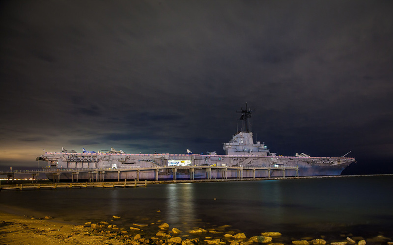 Naked Ghosts of Soldiers Haunt This Historic Texas Aircraft Carrier