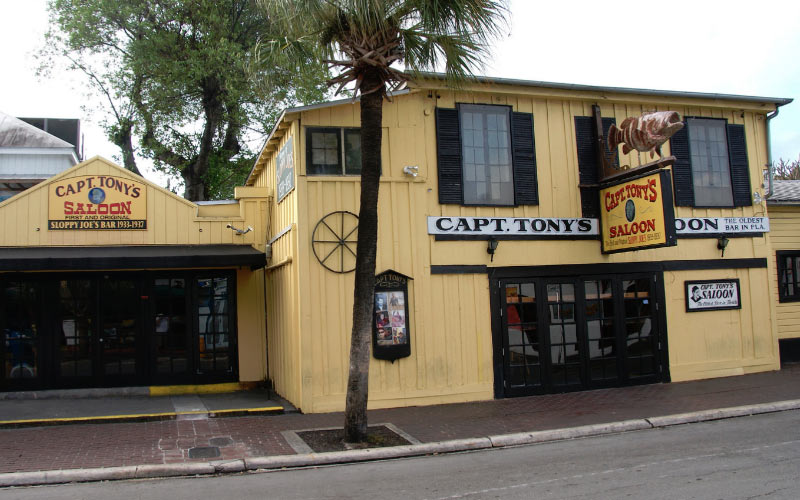 It's known as the oldest bar in Florida, but this Key West attraction is quite possible one of the most haunted, too.