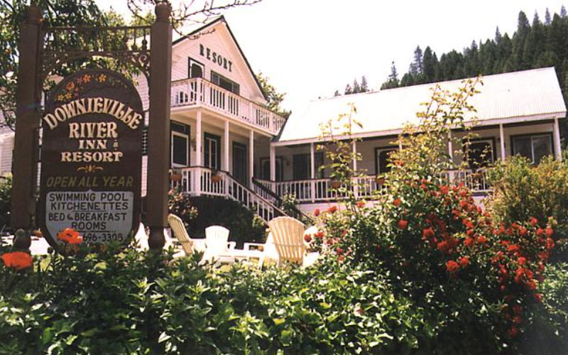 The Downieville River Inn & Resort is one of the best places to stay when you're in Downieville, especially if you enjoy the possibility of a paranormal experience.
