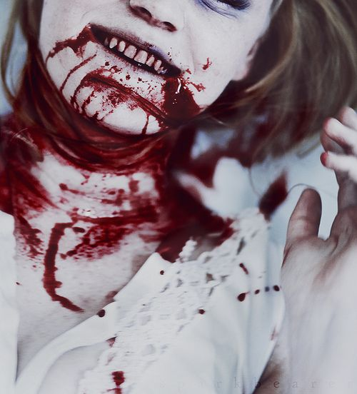 When you're expecting to see something familiar, any slight deviation can throw you off - now imagine if you're expecting a flower girl, but you encounter a girl covered in blood.
