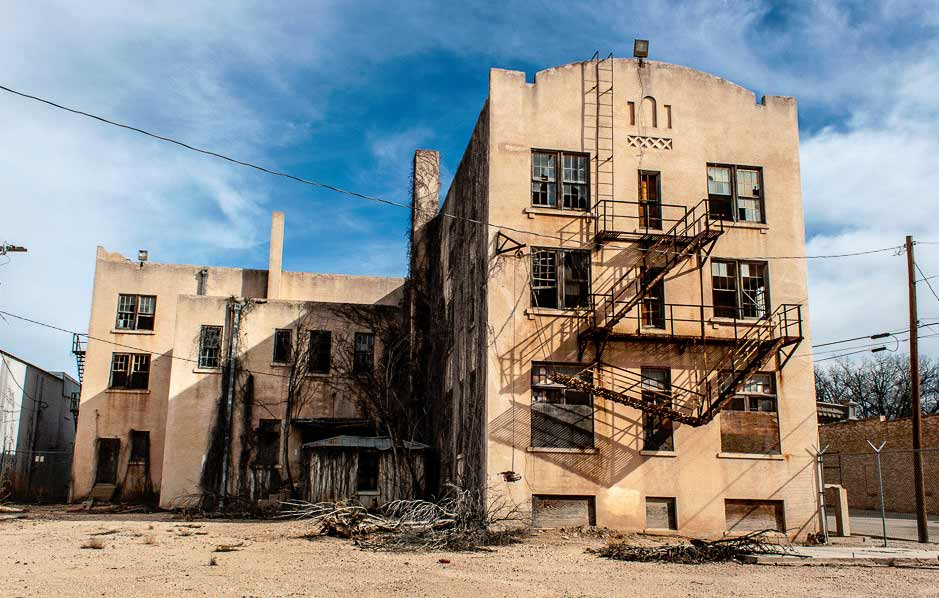 Residents hope for someone to renovate this historic hotel, but the spirits inside would rather be left alone.