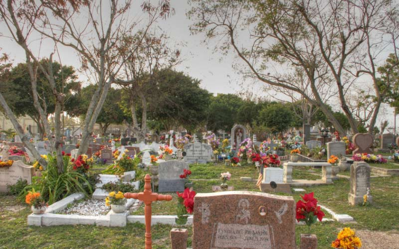 Port Isabel Cemetery is the final resting place for many incredible people, and some not-so-incredible ones, too...