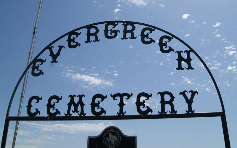 If you visit the haunted Evergreen cemetery in Texas, be respectful. Not just because it's the right thing to do, but it's also the safest thing to do in this El Paso hotbed of haunting.