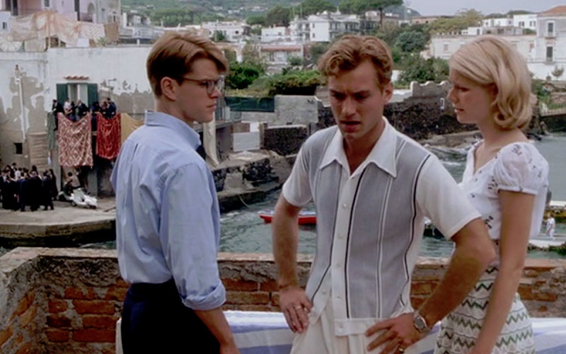 The Talented Mr Ripley was a breakout performance from Matt Damon, with an entire cast of stars putting in great performances.