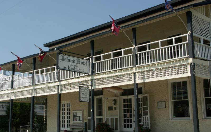 The Island Hotel is a historic site in Cedar Key and home to some of the most haunted real estate in Florida.