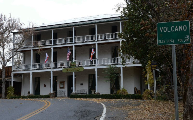 The St George Hotel in Volcano Ca., is almost certainly haunted, unless you can think of a better explanation?