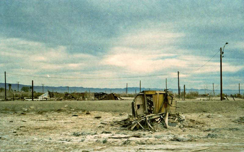 Bombay Beach sure isn't what it used to be, but fans of the paranormal aren't complaining.