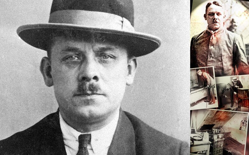 Fritz Haarmann was known as the Butcher or the Vampire of Hanover after more than twenty young men and boys were killed between the years 1918 - 1924.