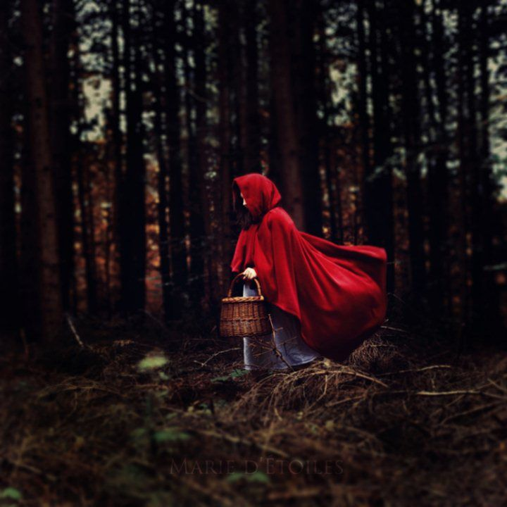 The original story of Little Red Riding Hood had her cannibalizing her grandmother.