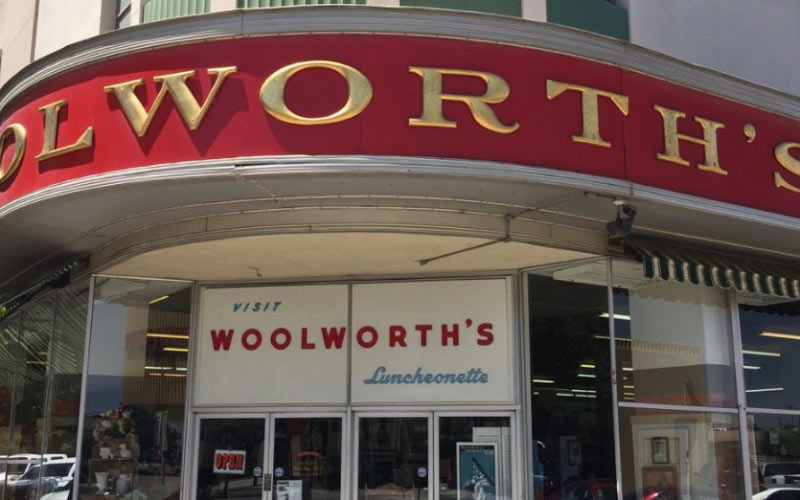 Woolworth's is a local institution in Bakersfield.