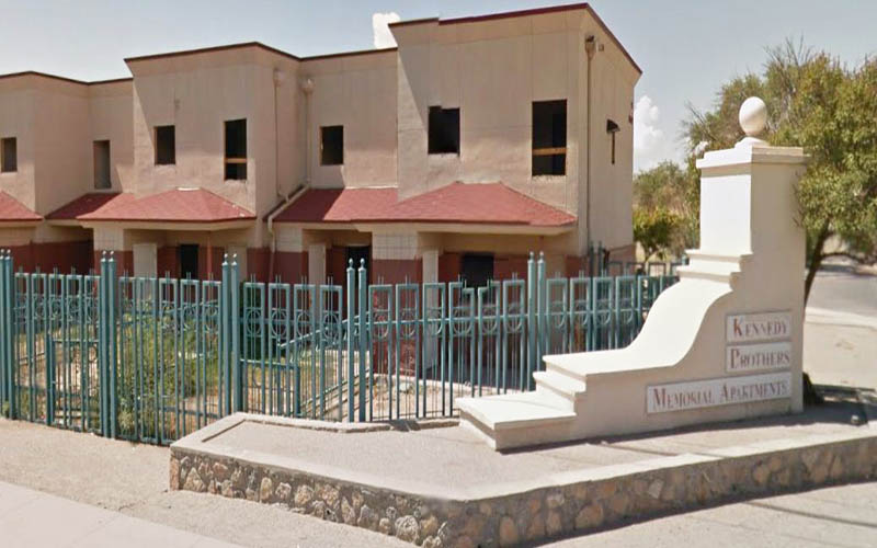The Kennedy Brothers Memorial Apartments in El Paso, Texas.