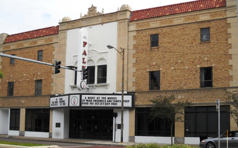 The Falk Theater in Tampa, Florida is a historic building with a sinister history.