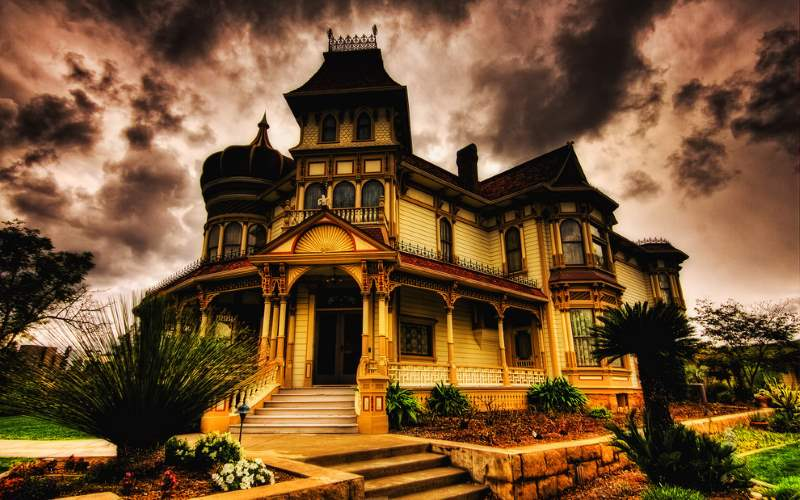 Throughout Southern California, there are haunted houses, inns, restaurants and creepy places like the Morey Mansion.