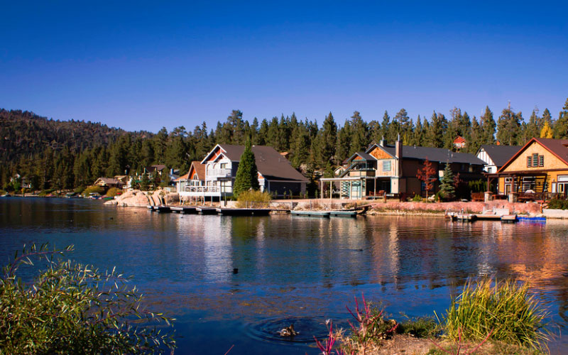 Big Bear Lake is a beautiful place to camp and enjoy California's amazing nature, but keep an eye out for paranormal visitors.