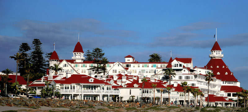 Hotel Del Coronado is a huge, haunted building waiting for you to experience it for yourself.