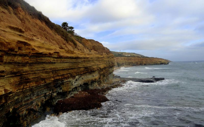 Sunset Cliffs is beautiful at dusk, but get out of there before the night reaches pure dark.