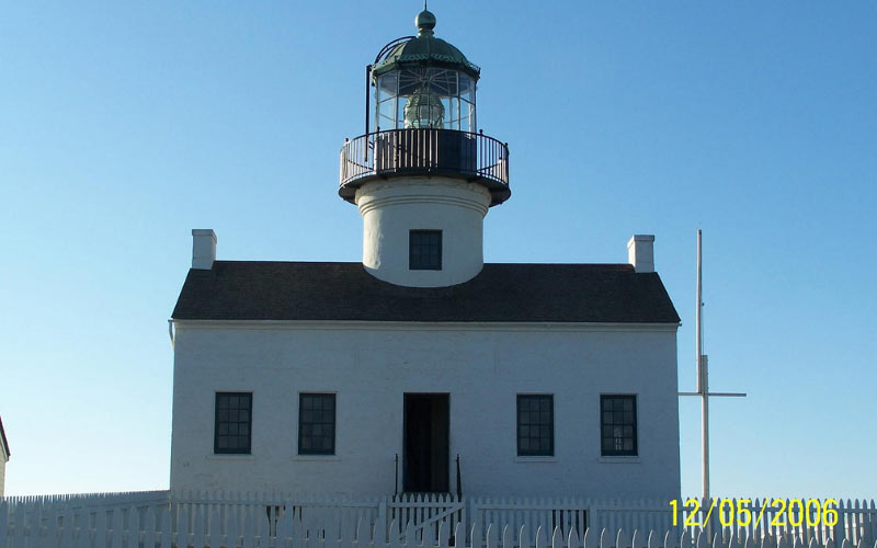 California is home to numerous lighthouses, but not all of them are as haunted as this one in San Diego.