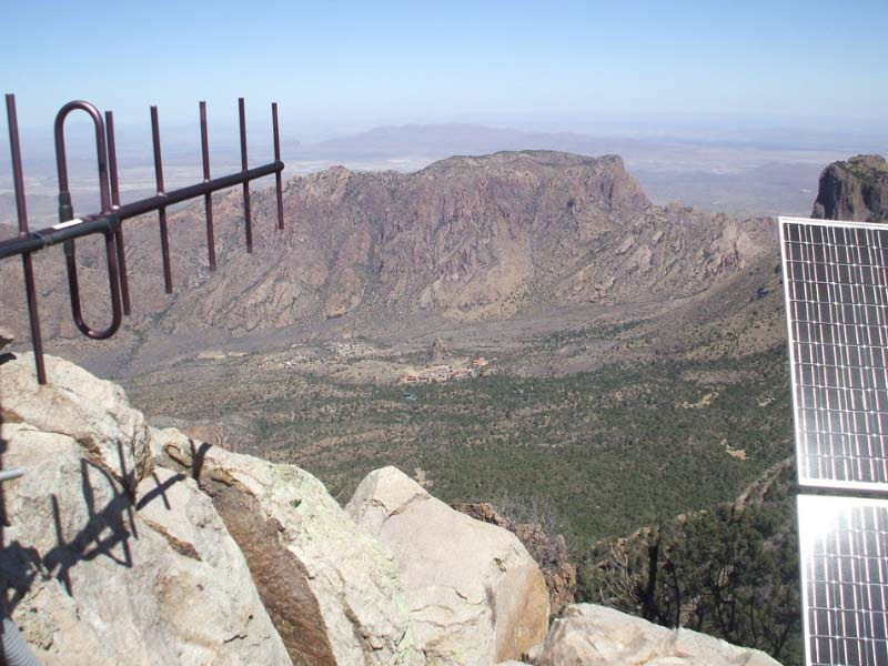 Emory Peak is a perfect vantage point of the area around it, but it's the things you can't see that you need to worry about most.