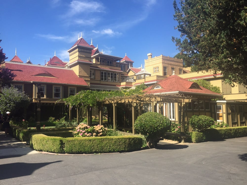 The Winchester Mystery House in San Jose is one of the first place you should go if you're looking for a paranormal experience.