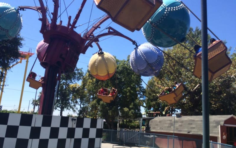 Adventure City in Long Beach, California has a lot of fun to offer for the family, but the paranormal and sinister spirits aren't family-friendly at all.