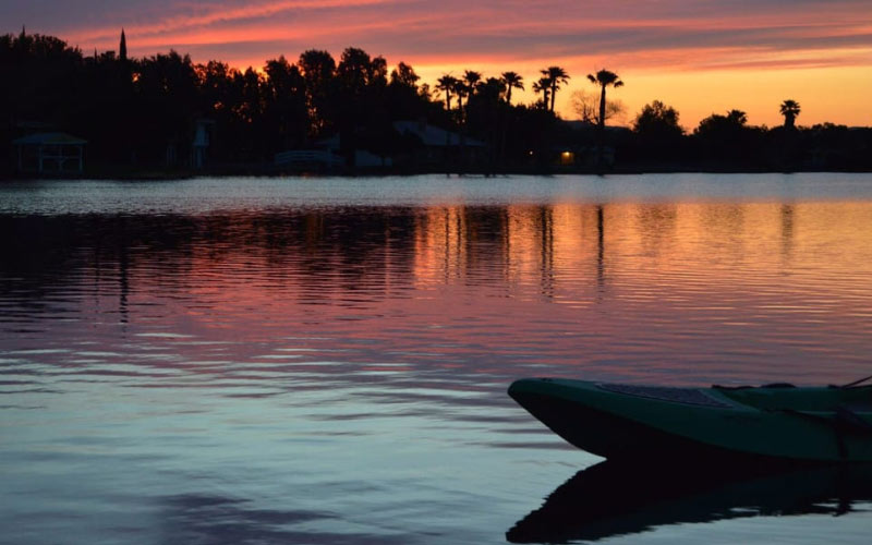If you're near Newberry Springs and you're interested in visiting one of the most haunted lakes in California, Lake Jodie is a must-visit.