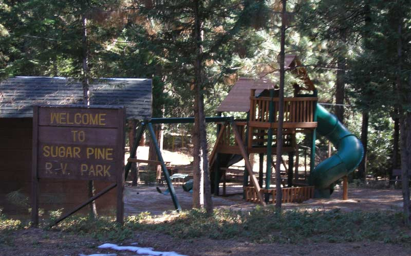 Twain Harte in California hosts one of the most haunted RV parks, and it is called Sugar Pine RV Park.