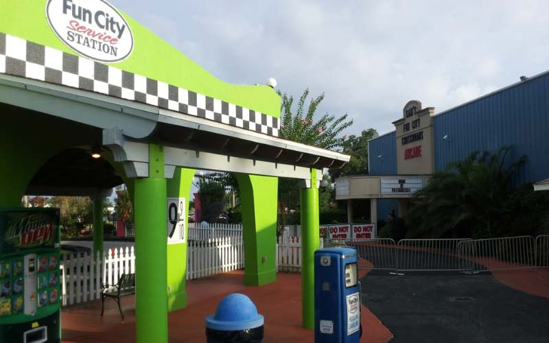 Sam's Fun City is one of, if not the only, amusement parks in Pensacola. By default, that makes it the most haunted... but it would have been, anyways.