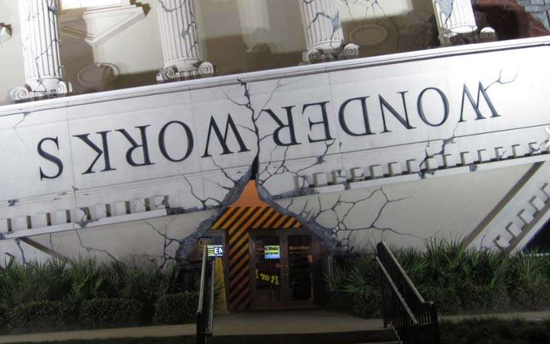 Wonderworks is a fun, interactive park that appeals to more playful of ghosts in Panama Beach City, Florida.