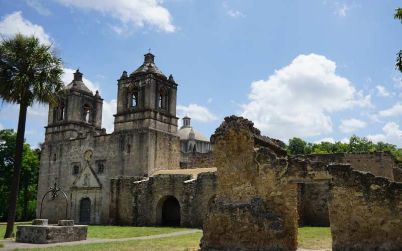 Mission Concepcion in San Antonio is home to an exorcism gone terribly wrong many years ago.