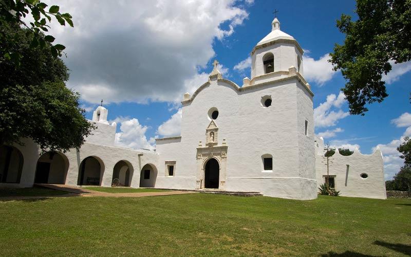 Mission Nuestra Señora del Espíritu Santo de Zúñiga in Goliad, Texas.