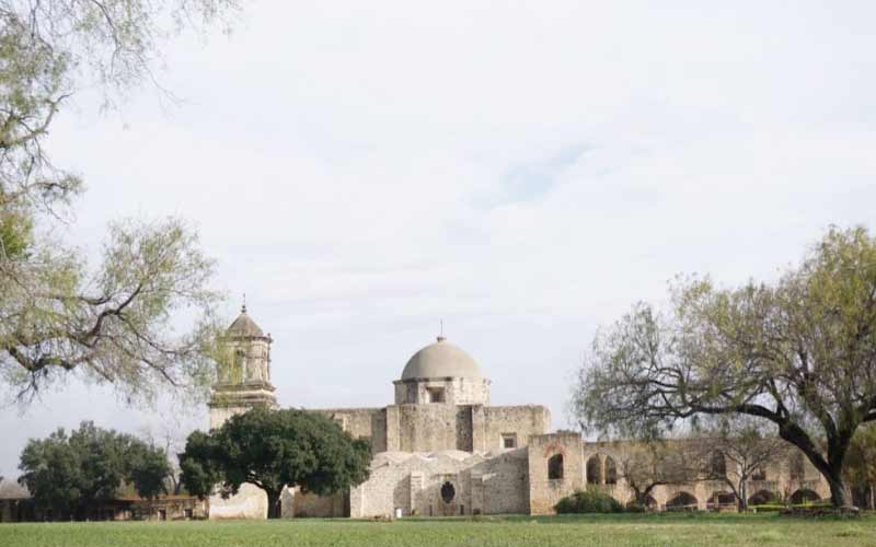 Mission San Jose y San Miguel de Aguayo in San Antonion, Texas is said to act as some sort of portal between worlds.