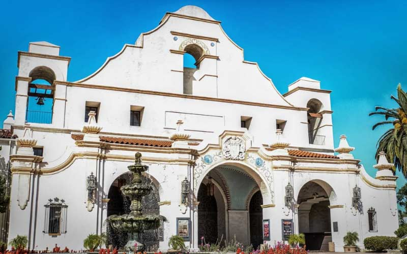 Occasionally visitors to San Gabriel Mission in California will hear the sound of someone weeping and the scent of roses envelops them.