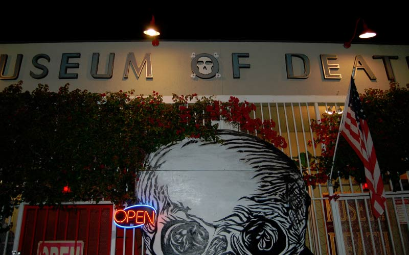 Would you visit a Museum of Death?