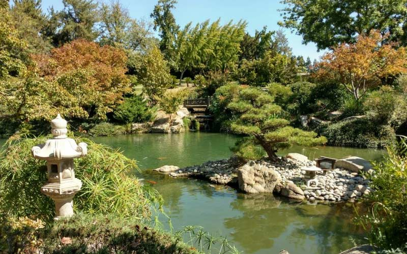 Shinzen Gardens in Fresno are gorgeous, and most certainly occupied by more than just plant-life.