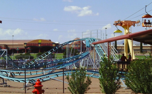 The Western Playland Amusement Park in El Paso is not incredibly haunted, just a little bit.