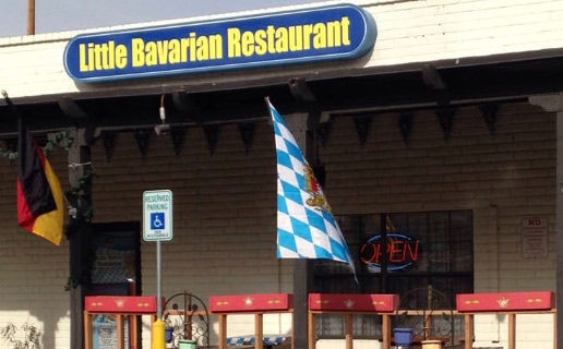 Little Bavarian Restaurant is a delicious spot to grab a bite in El Paso, Texas.