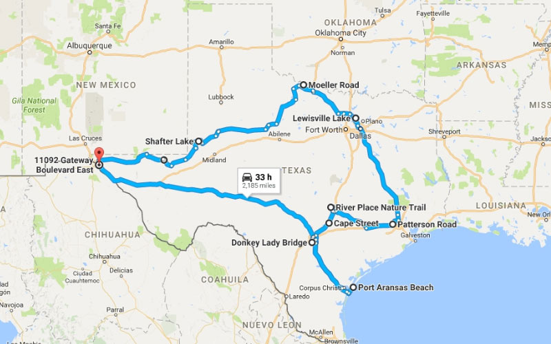 How many of your friends are brave enough to take a haunted road trip through Texas?
