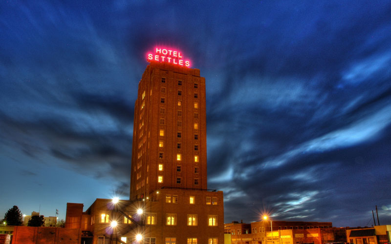 Hotel Settles in Big Spring is one of the most haunted hotels in all of Texas.